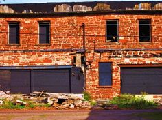Calumet sandstone warehouse...