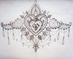 sternum tattoo - Google Search