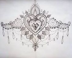 sternum tattoo - Google Search totally would get this across my thigh