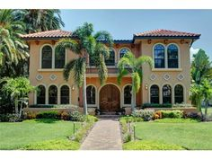 An exceptional Spanish/ Mediterranean inspired home. St Petersburg, FL Coldwell Banker Residential Real Estate