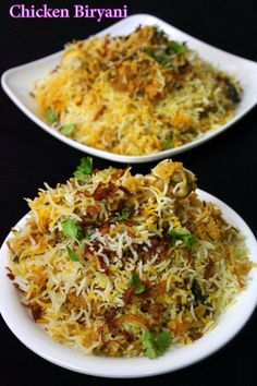 chicken biryani recipe, how to make biryani – Yummy Indian Kitchen Chicken biryani recipe is shared along with step by step details and a video procedure. This is a special eid recipe made for all those celebrating eid… Veg Recipes, Curry Recipes, Indian Food Recipes, Asian Recipes, Chicken Recipes, Cooking Recipes, Healthy Food Recipes, Chicken Byriani Recipe, Recipies