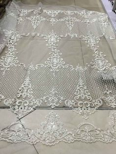 Elegent tulle lace bridal lace fabric swiss voile by AnnabelleDIY