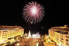 New Years Eve!!!! #thessaloniki Thessaloniki, Winter Holidays, New Years Eve, Opera House, Travel, Viajes, Destinations, Traveling, Trips