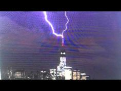 Lightning Hits One World Trade Center As Pope Arrives In Holy Land - YouTube 5/23/2014 ... (False Prophet, head of the One World Religion of the NWO)