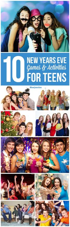 Top 10 New Years Eve Games & Activities For Teens