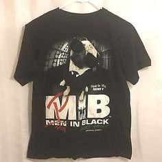 Men in Black Alien Attack Frank the Pug YOUTH XL Universal Studios T Shirt