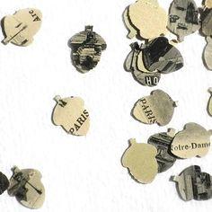 acorn confetti
