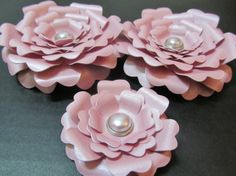 Weddings Handmade Paper Flowers Ready to Ship by mcfunk90 on Etsy, $8.15