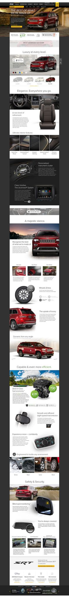 Jeep.com by Mikhail St-Denis, via Behance