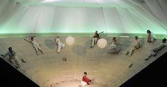 Schauspiel Frankfurt - Schauspiel Frankfurt - Der Diener zweier Herren Carlo Goldoni --- #Theaterkompass #Theater #Theatre #Schauspiel #Tanztheater #Ballett #Oper #Musiktheater #Bühnenbau #Bühnenbild #Scénographie #Bühne #Stage #Set