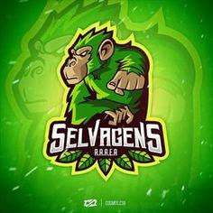 Logo Desing, Game Logo Design, Typography Logo, Art Logo, Logo Design Inspiration, Icon Design, Ghibli Tattoo, Esports Logo, Youtube Logo