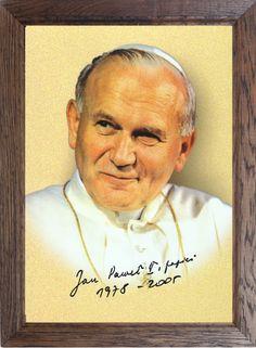 #NOWOŚĆ! Dodaliśmy do naszej oferty nowy produkt. Piękny #obraz Jana Pawła II w #dębowej #ramie. Nowy rozmiar 35 x 47 cm na pewno zmieści się obok innych obrazów. Będzie idealnie pasował do mniejszych pomieszczeń. http://bit.ly/1MQZLgI