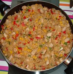 Fried Rice, Fries, Curry, Ethnic Recipes, Food, Kitchens, Red Peppers, Curries, Essen