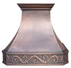 Copper Best Copper Range Hood, 30 inch Handcrafted with Hood Inserts Copper Hood, Hood Fan, Range Hoods, Ceiling Height, Antique Copper, Kitchen And Bath, Cool Kitchens, Island