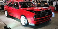 Image result for audi 80 sport quattro Audi 80, Audi Sport, Classic Trucks, Audi Quattro, Rally, Cool Cars, Transportation, Automobile, German