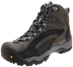 KEEN Women's Revel Winter Boot,Gargoyle/Azure Blue,5 M US * Check out the image by visiting the link.