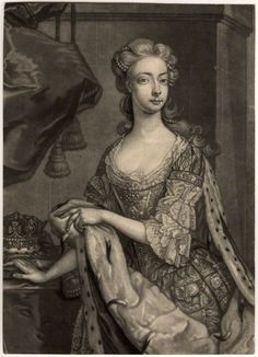 1761, English http://www.npg.org.uk/collections/search/portrait/mw41940/Princess-Amelia-Sophia-Eleanora?search=ap&firstRun=true&title=&npgno=&eDate=1750&lDate=1759&medium=&subj=&set=&searchCatalogue=&ow=restrict&submitSearchTerm_x=34&submitSearchTerm_y=13&displayNo=60&wPage=3&rNo=198
