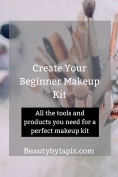 The Products You Need to Create Your Own Beginner Makeup Kit Create your beginner makeup kit. All the tools and products you need for a perfect makeup kitCreate your beginner makeup kit. All the tools and products you need for a perfect makeup kit Make Up Tutorials, Makeup Tutorial For Beginners, Contour Makeup, Makeup Brush Set, Makeup Geek, Makeup Jokes, Makeup Eraser, Contouring, Beginner Makeup Kit