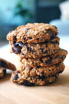 A rich, chewy cookie packed full of good stuff! This Cowboy Cookies recipe is made with oats, chocolate chips, almonds and raisins. Oreo Truffles Recipe, Truffle Recipe, Best Oatmeal Raisin Cookies, Cowboy Cookie Recipe, Cookie Recipes, Dessert Recipes, Baking Recipes, Easy Recipes, Baking Tips