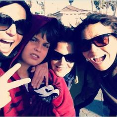 Lana Parrilla and family
