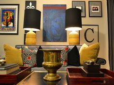 Love the Colors... from Nate Berkus & Mr. Goodwill Hunting