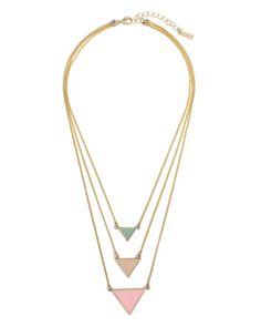 Pastel Points Necklace