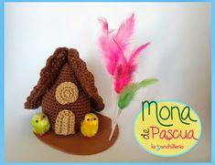 la ganchillería: Patrón: Mona de Pascua