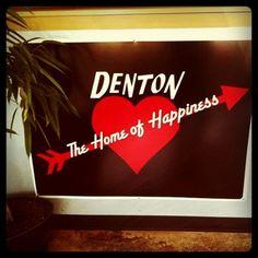 Denton has a reputation