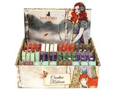 Santoro London, Grosgrain, Scrapbooking, Tampons, Crochet Lace, Ribbon, Velvet, Ebay, Creative