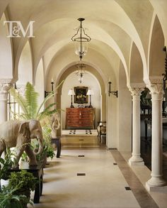 Tucker & Marks - Moorish style arches.