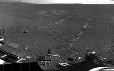 After three weeks of preparations, the Mars Curiosity rover started making tracks on the Red Planet on Wednesday, and we have pics.