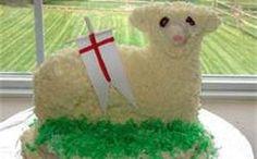 St. Joseph's Altar Lamb Cake