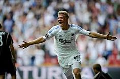 Andreas Cornelius, Danish footballer who plays for Cardiff City, in Premier League. He's a striker and also plays for Danish National Football Team.