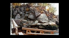 Natural boulder outcropping.  Breathtaking!!