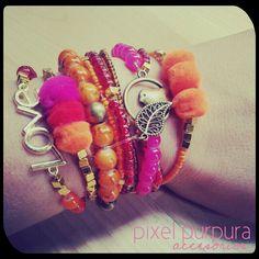 #bracelets #fashion #pulseras #accessori #jewerly