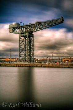 The Finnieston Crane, River Clyde, Glasgow, Scotland