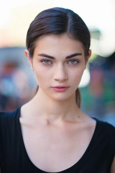 runwayandbeauty:  Antonina Vasylchenko - After Honor, NYFW SS 2014 Source: mitograph