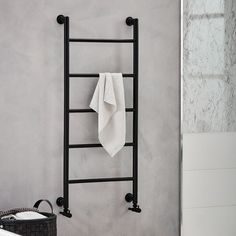 this si the only good looking towel radiator I've found with valves