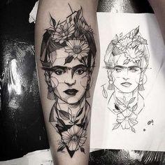 Tatuajes de Frida Kahlo: Diseños de tatuajes feministas [FOTOS] (28/32) | Ellahoy