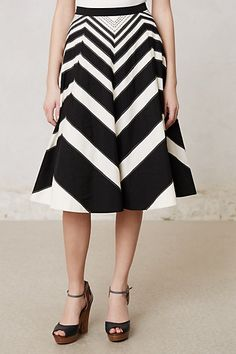 Waverly A-Line Skirt #anthropologie