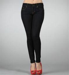 Dark Denim Stretch Skinny Jeans