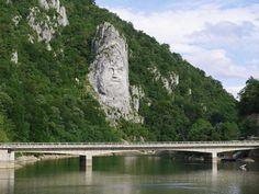 #ancient times #booked #danube #danube gorge #folk hero #inscription #iron gate #karparten #king decebalus #relief #river cruise #road bridge #rock #romania #serbia #sdkarparten #tributary