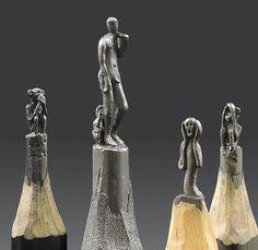 Jasenko Dordevic, pencil carver