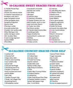 10 calorie snack ideas