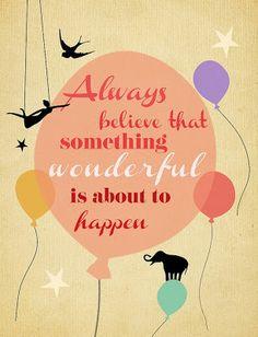 Wonderful....