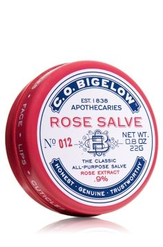 Rose Salve C.O. Biglow Bath and Body Works