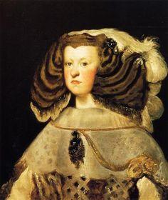 Reina  Mariana - Diego Velazquez . 1656