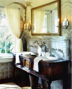 38 antique bathroom vanities ideas | antique bathroom