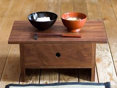 JAPANESE STYLE DINNER TABLE :   JOBAN / AKITO AKAGI