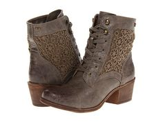Roxy Newton Lace and Leather Boots